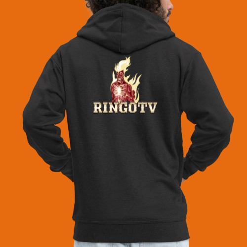 Ringo TV Logo - Männer Premium Kapuzenjacke