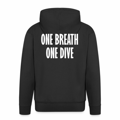 One breath one dive - Premium-Luvjacka herr