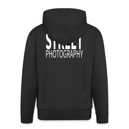 Street Photography T Shirt - Felpa con zip Premium da uomo