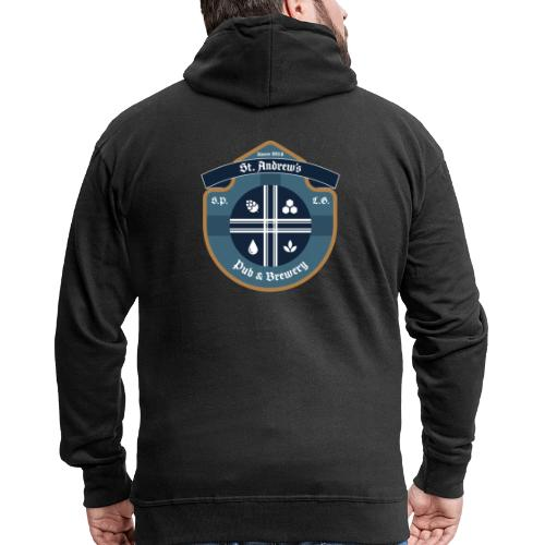 St Andrews T-Shirt - Felpa con zip Premium da uomo