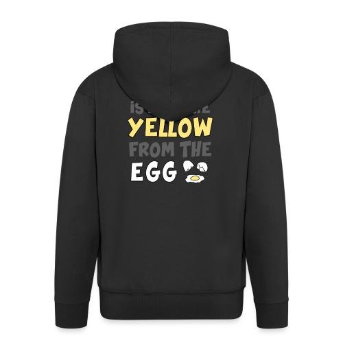 Das gelbe vom Ei Witz englisch - Männer Premium Kapuzenjacke