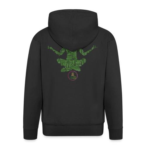 Meditation Good Vibes Green - Veste à capuche Premium Homme