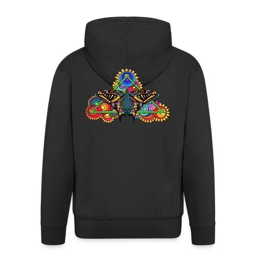 Happy Butterfly! - Männer Premium Kapuzenjacke