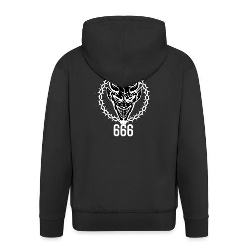 666 bikers black - Veste à capuche Premium Homme