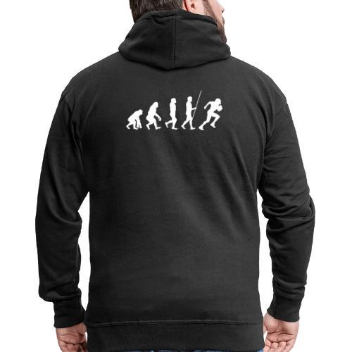 Evolution - Männer Premium Kapuzenjacke