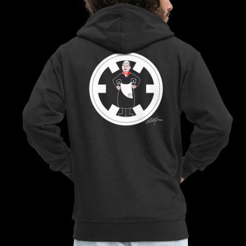 PC33 madre mine records tapes la señora logo - Chaqueta con capucha premium hombre