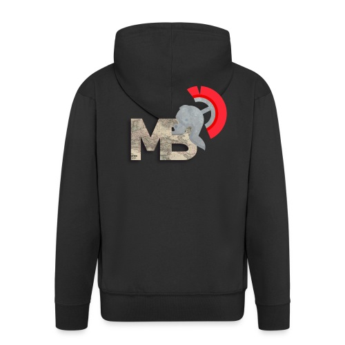 TheMBmulti Logo - Men's Premium Hooded Jacket