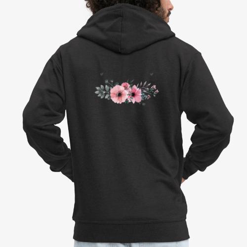 rosas - Chaqueta con capucha premium hombre