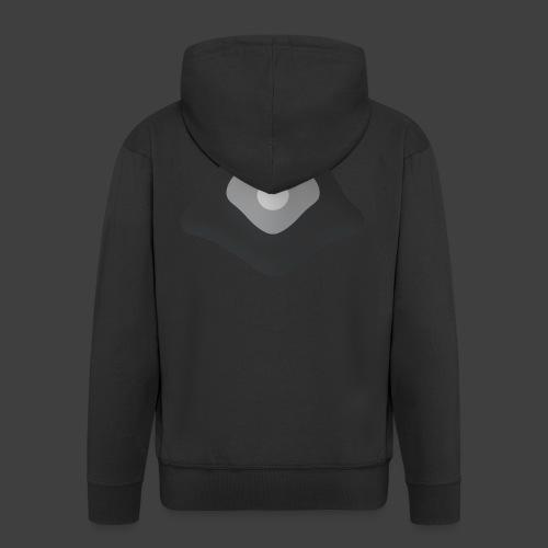 White point - Men's Premium Hooded Jacket