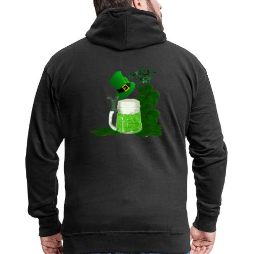 St. Patrick's Day 1 - Men's Premium Hooded Jacket