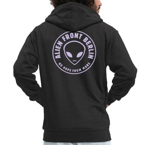 Alien Front Berlin Vektor - Männer Premium Kapuzenjacke