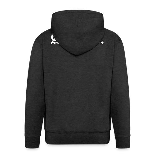 A.C.A.B. - Miesten premium vetoketjullinen huppari