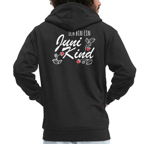 Juni Geburtstag Kind Shirt lustiges Geschenk - Männer Premium Kapuzenjacke