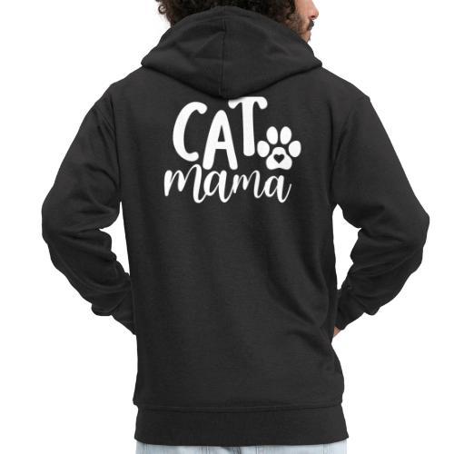 CAT MAMA - Veste à capuche Premium Homme