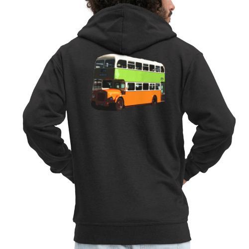 Glasgow Corporation Bus - Men's Premium Hooded Jacket
