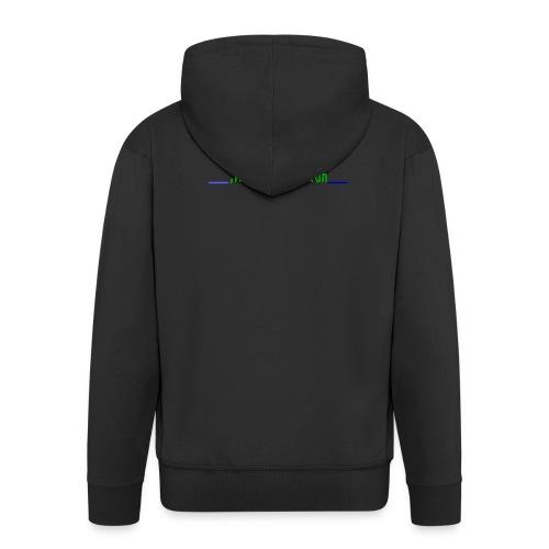 PSYCHO FROG - Men's Premium Hooded Jacket