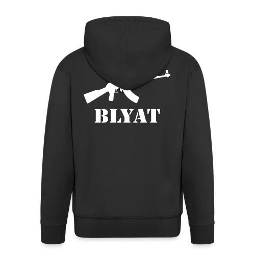 Cyka Blyat - Miesten premium vetoketjullinen huppari