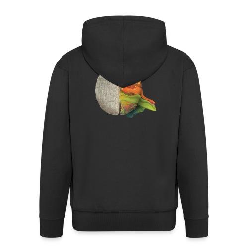 Brain and colours - Chaqueta con capucha premium hombre