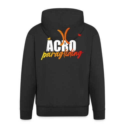 Acro Paragliding - Männer Premium Kapuzenjacke
