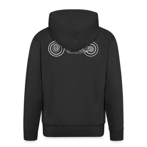bonneville bobber Motorbike - Veste à capuche Premium Homme