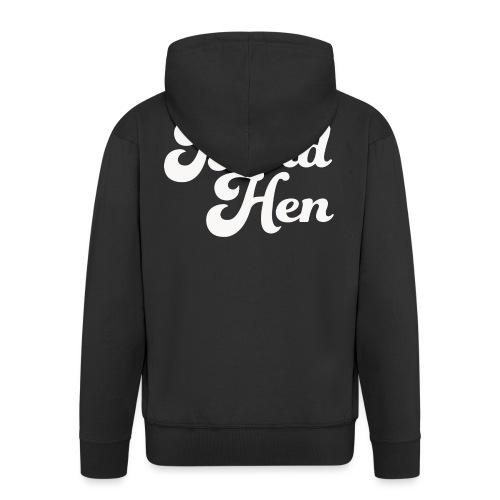 Blind Hen - Logo T-shirt, slim fit, black - Men's Premium Hooded Jacket