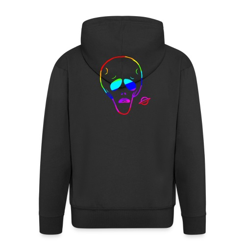 Alien RAINBOW - Men's Premium Hooded Jacket