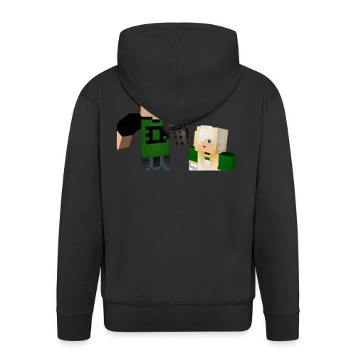 Senpai marcus - Men's Premium Hooded Jacket