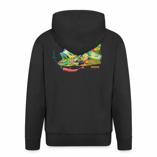 'Ball Biter' - Goby - Light Rock Fishing - Men's Premium Hooded Jacket