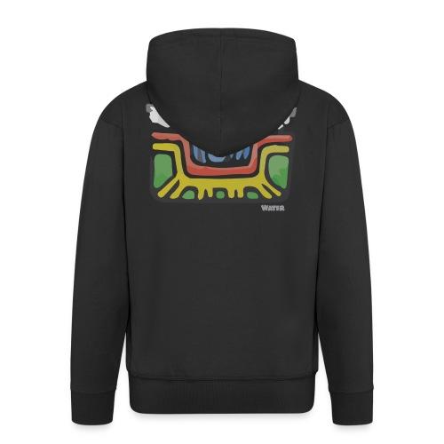 Aztec Water - Men's Premium Hooded Jacket