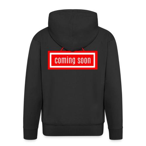 Coming soon - Männer Premium Kapuzenjacke