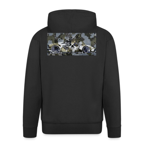 calavera style - Men's Premium Hooded Jacket