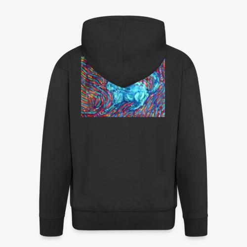Kotek - Rozpinana bluza męska z kapturem Premium