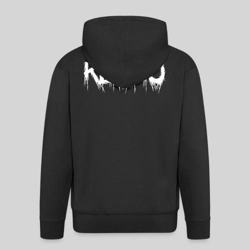 Kuopio - Miesten premium vetoketjullinen huppari