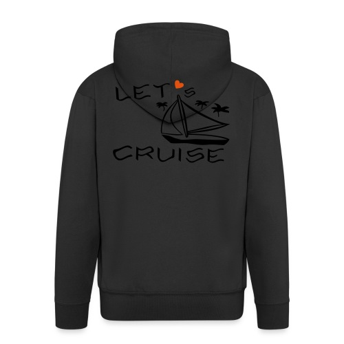 Kreuzfahrt, Segelboot, Palmen - Männer Premium Kapuzenjacke