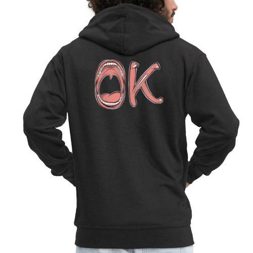 OK - Veste à capuche Premium Homme