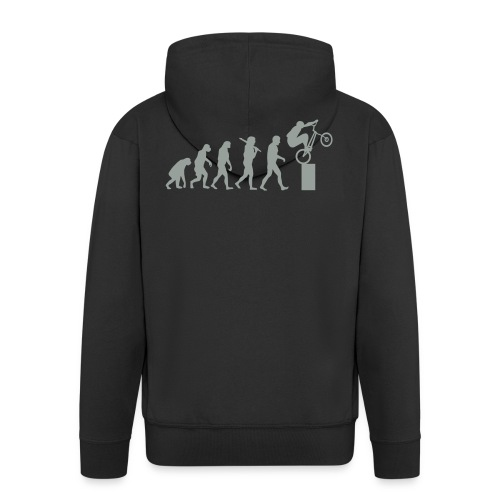 Bike Trial Evolution - Men's Premium Hooded Jacket