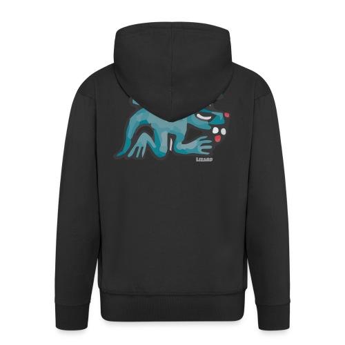 Aztec Lizard/Net - Men's Premium Hooded Jacket