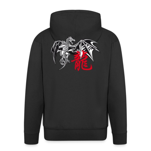 THE YEAR OF THE DRAGON ( - Men's Premium Hooded Jacket