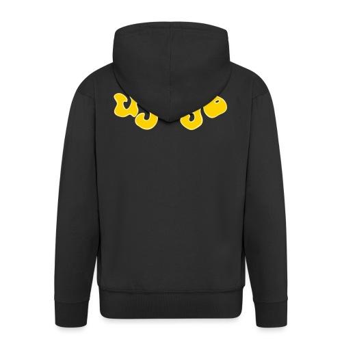 ujago gelb - Männer Premium Kapuzenjacke