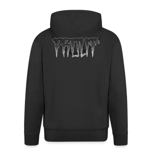 Horror PROUT - white - Men's Premium Hooded Jacket