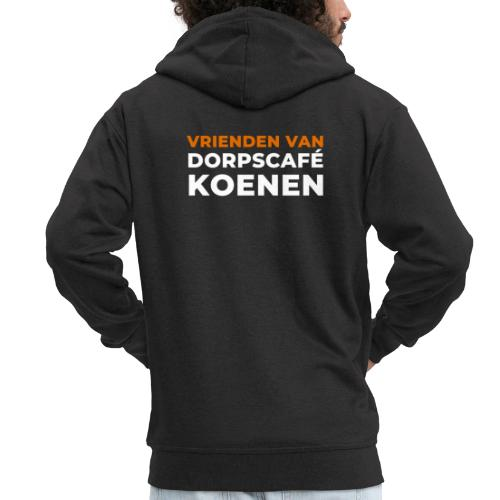 Vrienden van Dorpscafé Koenen - Mannenjack Premium met capuchon