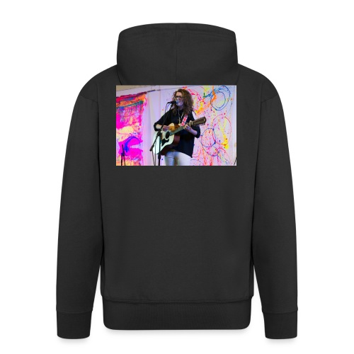 Leah Haworth Performing (Official Merchandise) - Men's Premium Hooded Jacket