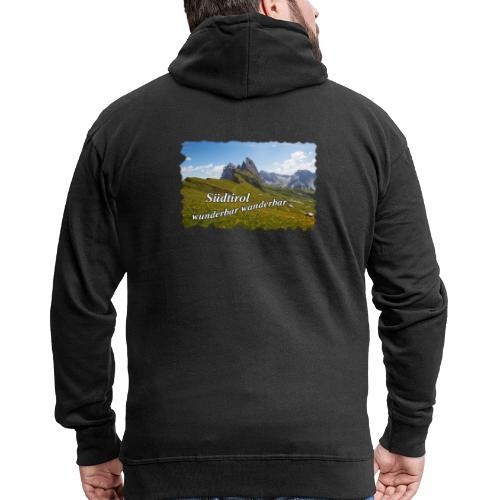 Südtirol - wunderbar wanderbar - Männer Premium Kapuzenjacke