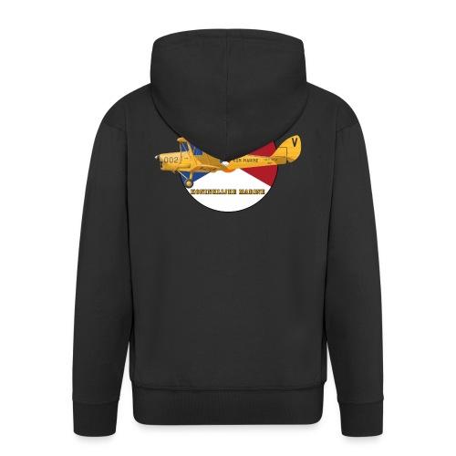 Tiger Moth Kon Marine - Men's Premium Hooded Jacket
