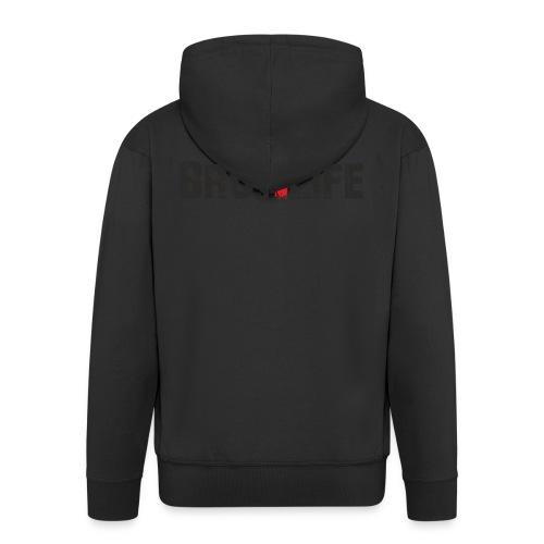 bros 4 life - black-red - Männer Premium Kapuzenjacke