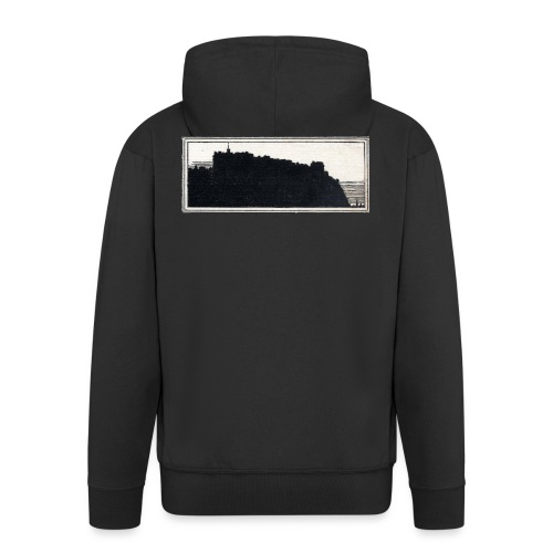back page image - Men's Premium Hooded Jacket
