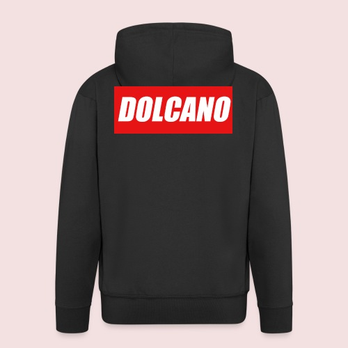 DOLCANO Box Logo Short Sleeved T-Shirt. - Men's Premium Hooded Jacket