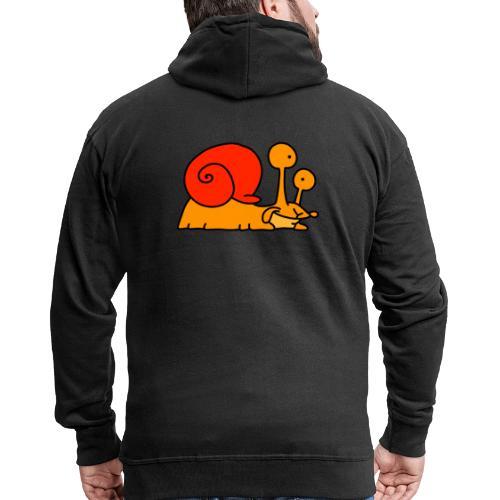Schnecke Nr 97 von dodocomics - Männer Premium Kapuzenjacke