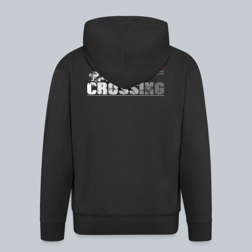 CROSSING - REAPERs Airsoft - Männer Premium Kapuzenjacke