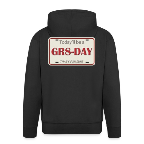 gr8-day - Chaqueta con capucha premium hombre